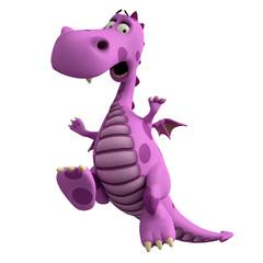 pink dragon crazy jump