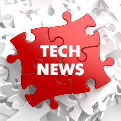 Tech News on Red Puzzle.