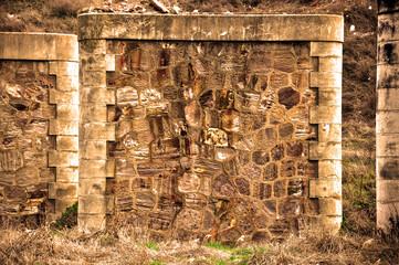 Puertollano, restos de un puente, arqueología industrial