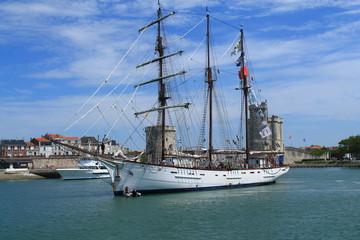 Voilier trois mats à La Rochelle