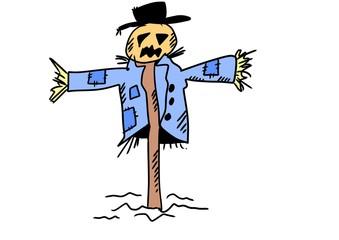 doodle scarecrow