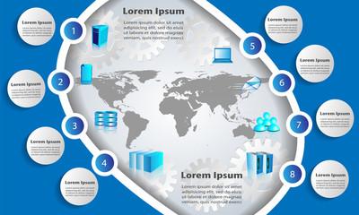 Enterprise application Integration Architecture Infographics