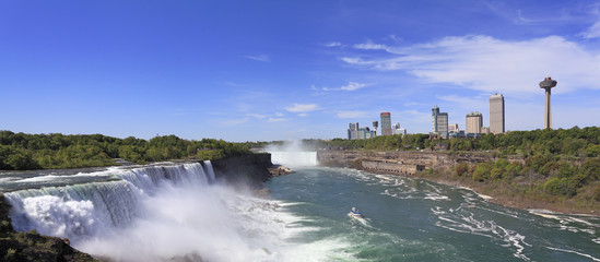 Niagara Falls and city