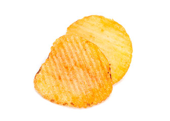 Ribbed potatoes snack