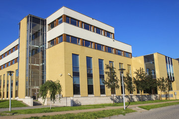 The Jagiellonian University, Krakow, Poland  Modern campus build