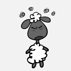 Sheep upset