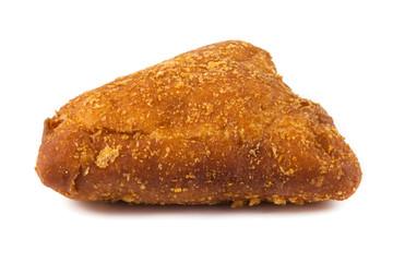 close up fried donut