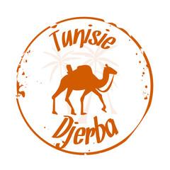 stamp Djerba