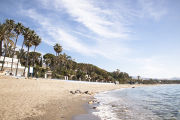 Playa Casablanca  en Marbella España.