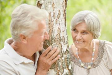 couple near the birch