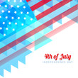 abstract style independence day background