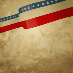 grunge style american background
