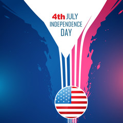 abstract american independence day background
