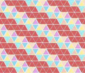 Hexagon seamless pattern background