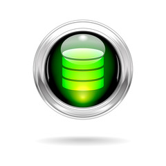 Shiny Data Button Icon