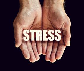stress hands