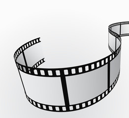 film reel abstract background 3d