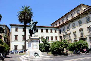Garibaldi Standbild in Pistoia
