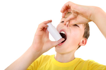 Kid with Inhaler