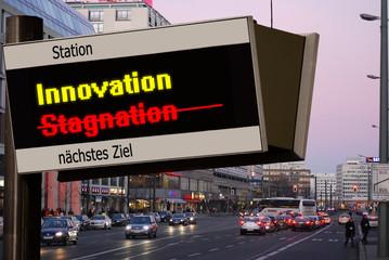 Anzeigetafel 5 - Innovation