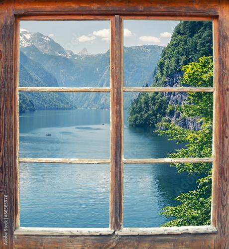 Fensterblick Königssee
