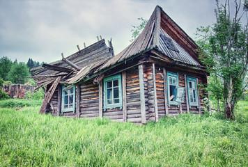 ruinous country house