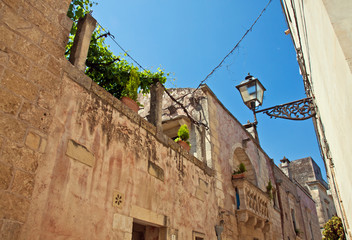 Martano, baroque balcony - Salento - Italy