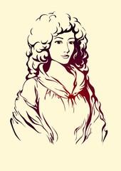 Дама эпохи