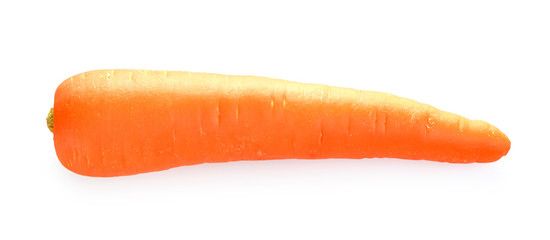 Carrot isolate on white background