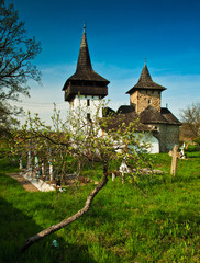 Medieval church in Transylvania