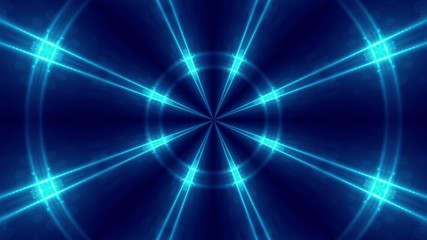 blue abstract loop motion background