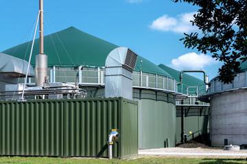 Biogasanlage mit E-Werk