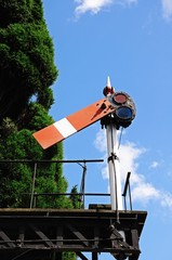 Railway semaphore signal © Arena Photo UK