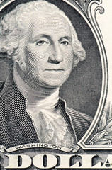 The face of Washington the dollar bill macro