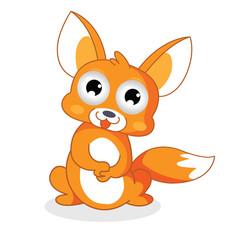 funny cartoon squirrel