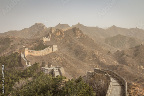 The Great Wall of China, near Beijing China © pcalapre