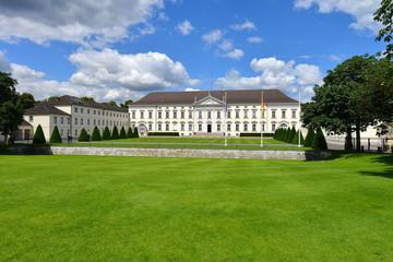 Schloss Bellevue, Bundespräsident, Amtssitz, Tiergarten, Berlin