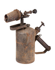 Rusty blowtorch