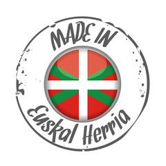 Stamp Made in Euskal Herria