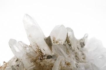 Bergkristall Kleinstufe Detail