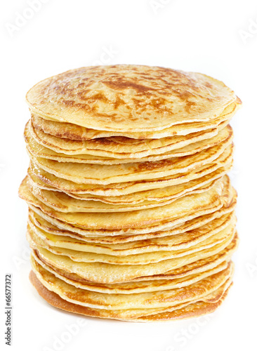 Papiers peints Assortiment A stack of pancakes