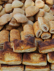 Freshly Made Meat Pies - Pasties and Sausage Rolls.