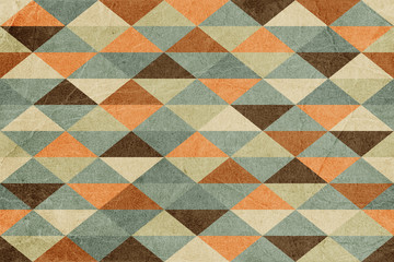 Abstract Retro Geometric Seamless Background