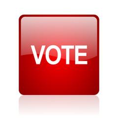 vote computer icon on white background