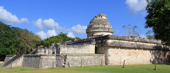 Observatoire astronomique de Chichen Itza ( Yucatan, Mexique)