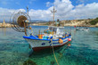 Fishing boats in a port in Pafos, Cyprus - 66580590