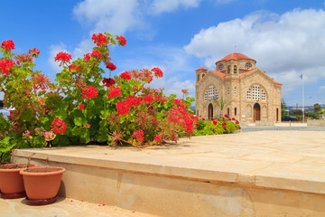Agios Georgios church near Pafos, Cyprus