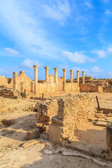 Ancient Greek's city in Paphos, Cyprus