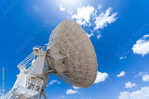 Plexiglas Radio satellite dish, Very Large Array (VLA) in NM, USA