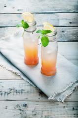 fresh grapefruit cocktail